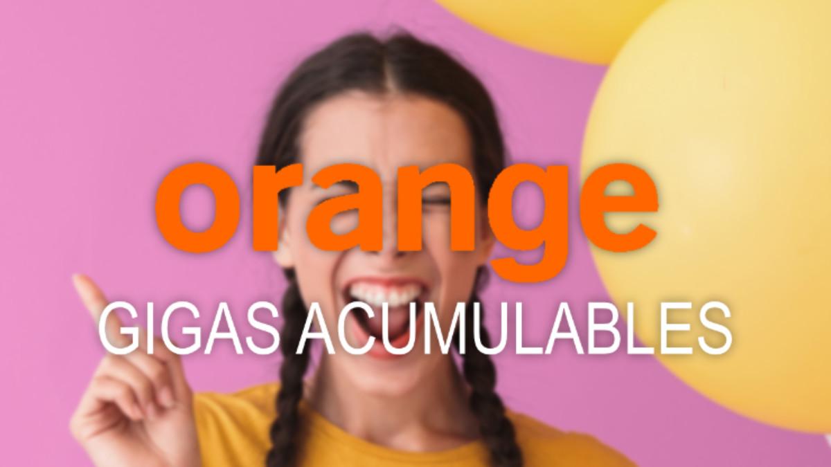 Los prepago Orange ya pueden acumular datos de un mes a otro