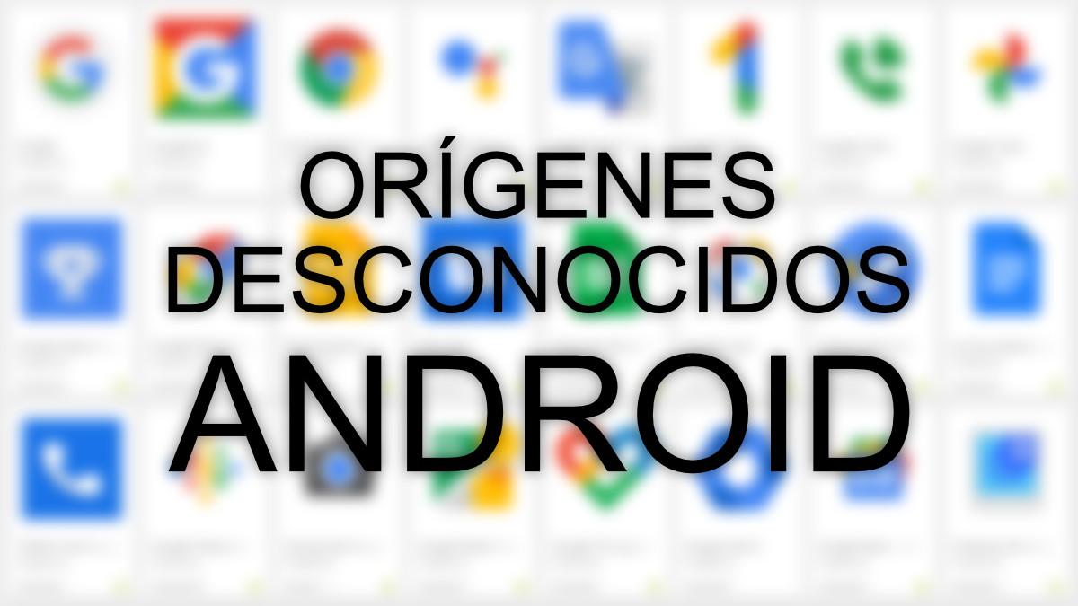"""Habilitar """"orígenes desconocidos"""" en Android para instalar apps fuera de Google Play"""