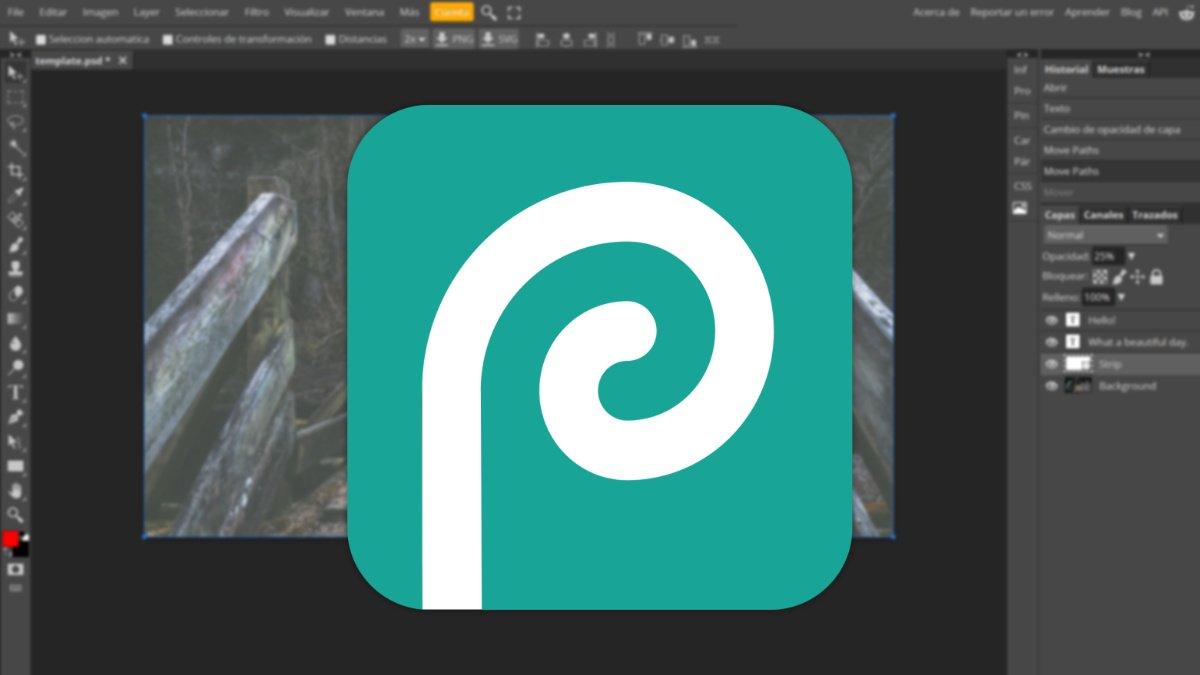 Photopea, una alternativa online a Photoshop