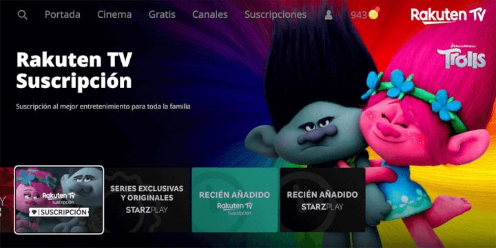 Imagen - Rakuten TV: qué es, cómo funciona y canales gratuitos