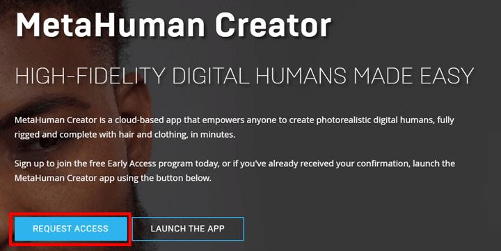 Imagen - MetaHuman Creator: qué es, cómo funciona y registro