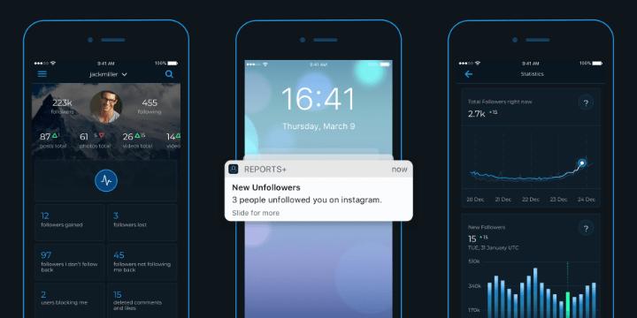 Imagen - Reports+, la app para analizar tus seguidores en Instagram