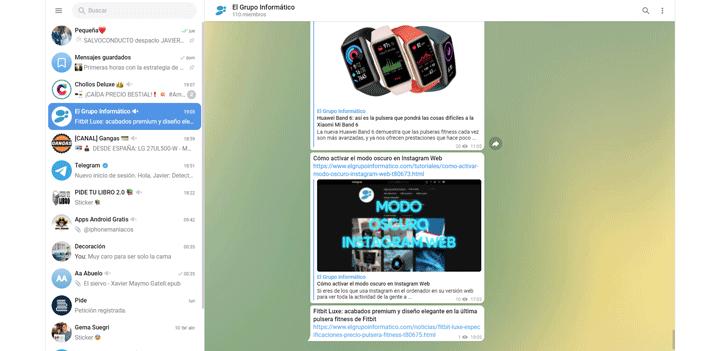 Imagen - Telegram WebK y Telegram WebZ, los nuevos Telegram Web