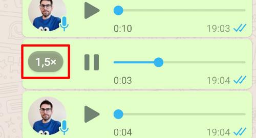 Imagen - 1x, 1.5x y 2x: WhatsApp ya permite acelerar un audio