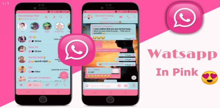 """Imagen - WhatsApp Pink, cuidado con el """"WhatsApp Rosa"""""""