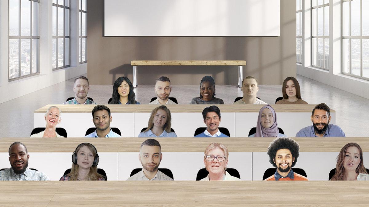 Nueva Vista Inmersiva de Zoom: reúne a todos los participantes en un único entorno virtual