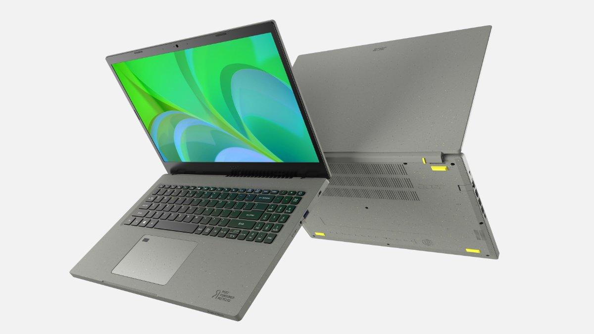 Acer Aspire Vero: el portátil sostenible basado en materiales reciclados