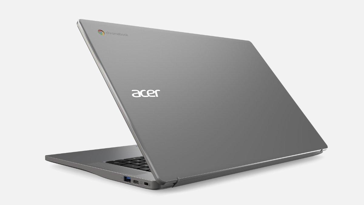 Así son los Chromebook de Acer para 2021: precios ajustados y hasta 17 pulgadas