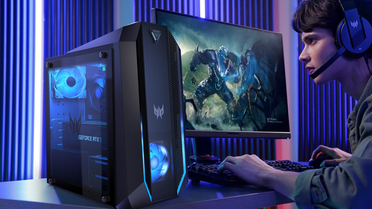 Acer Predator: estos son los nuevos sobremesas y monitores gaming