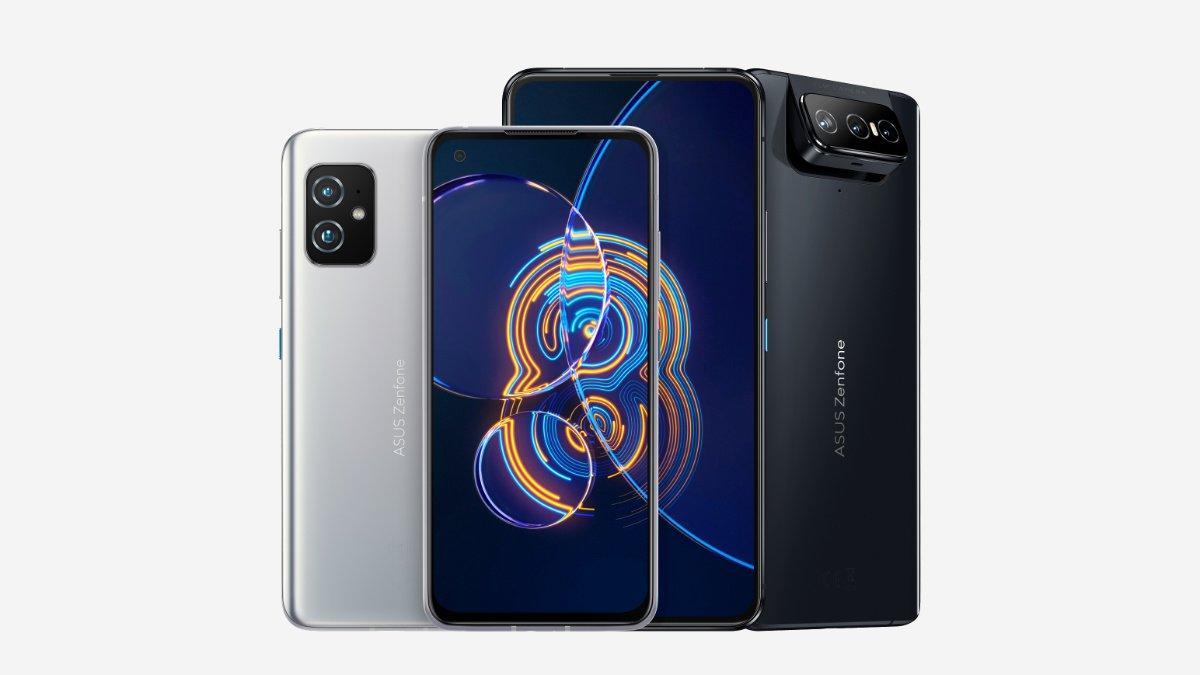 Zenfone 8 y Zenfone 8 Flip: móvil compacto y cámara giratoria son las apuestas de Asus