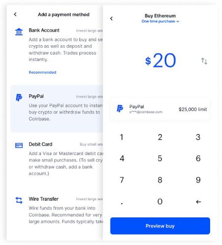 Imagen - PayPal ya permite comprar criptomonedas en Coinbase