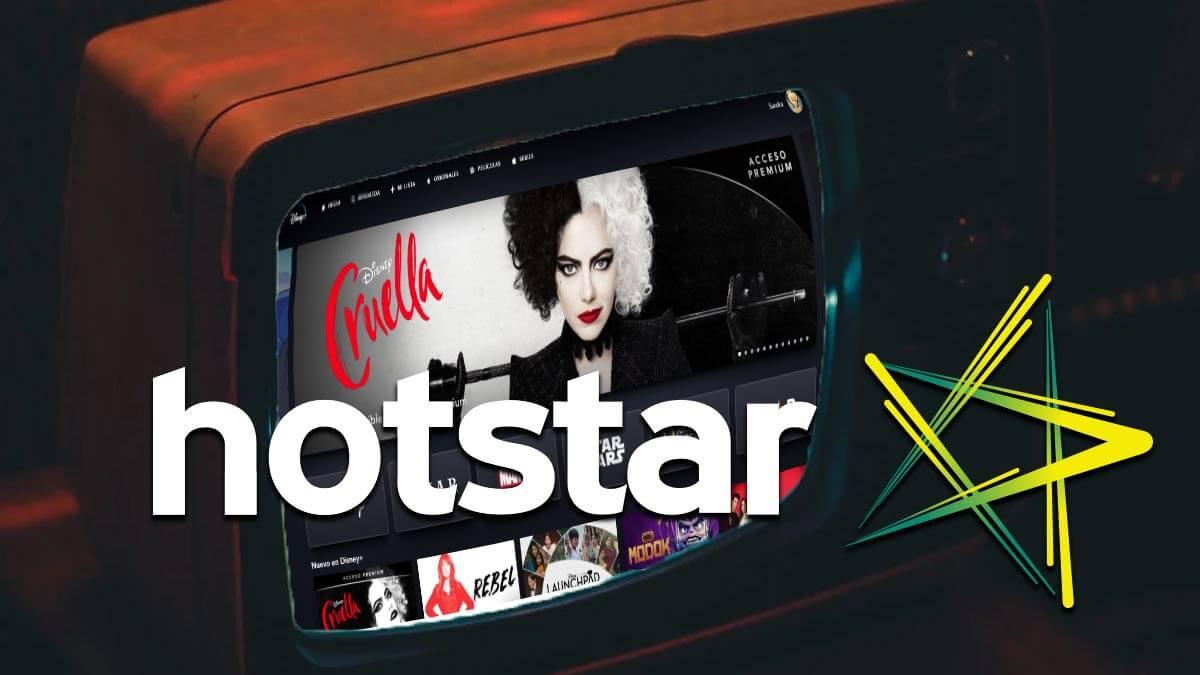 Hotstar, la plataforma de streaming de Disney gratuita