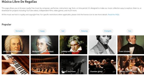 Imagen - Dónde descargar música libre de derechos para YouTube
