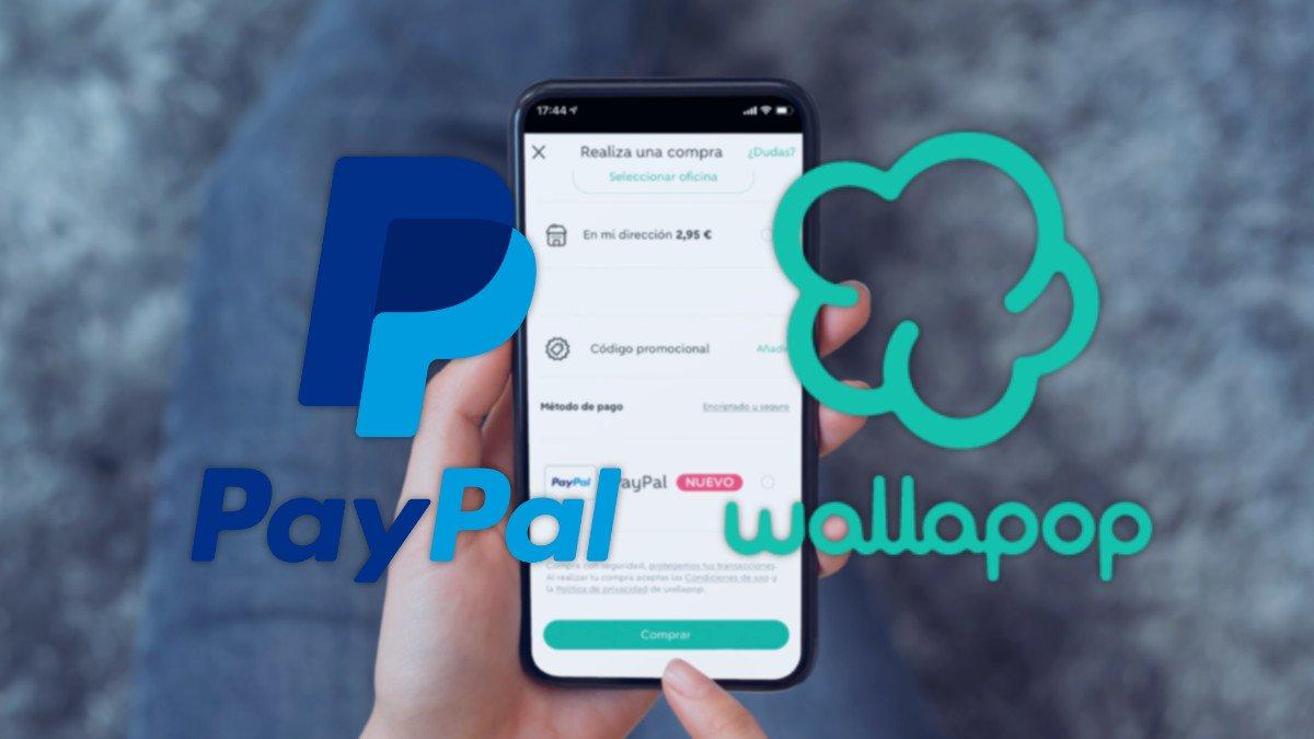 Wallapop ya permite pagar con PayPal
