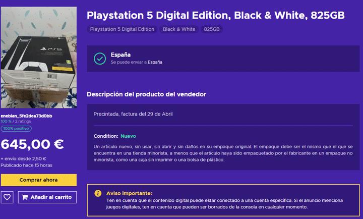 Imagen - Dónde comprar PlayStation 5 barata