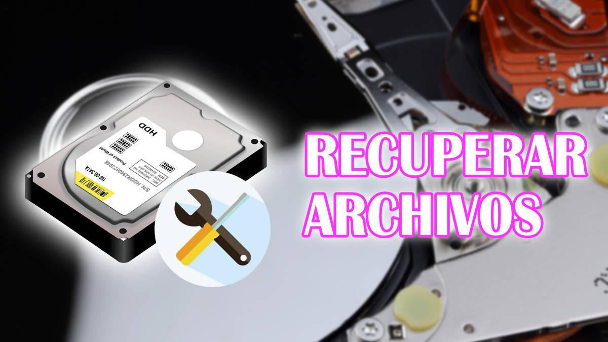 6 programas para recuperar archivos