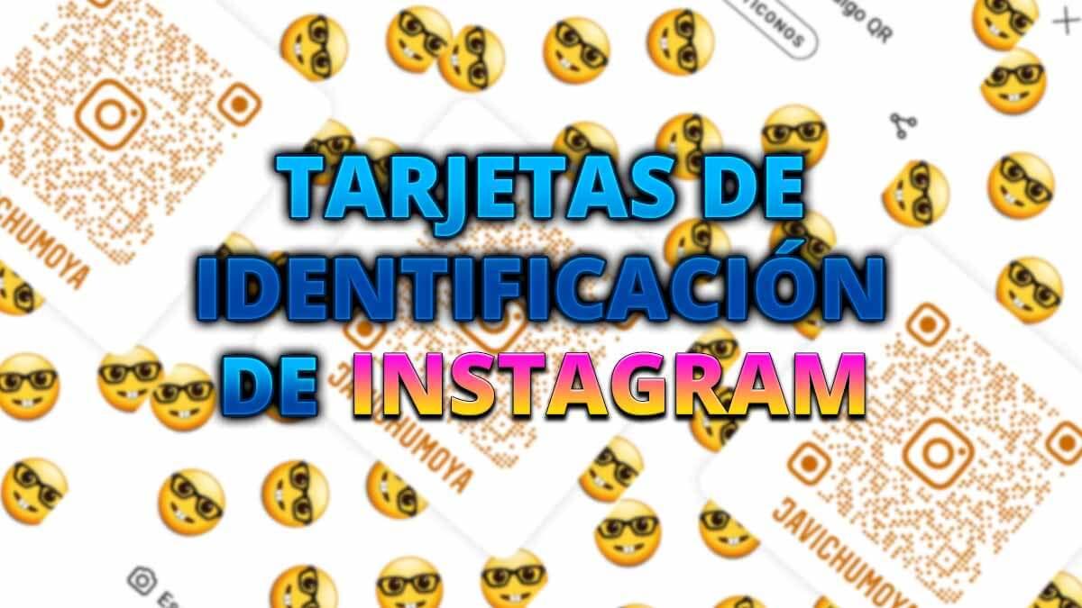 Cómo crear tarjetas de identificación en Instagram para que te sigan