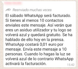 Imagen - ¿WhatsApp será de pago en 2021?