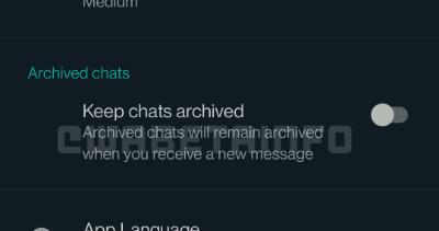 Imagen - Cómo archivar conversaciones de WhatsApp para siempre