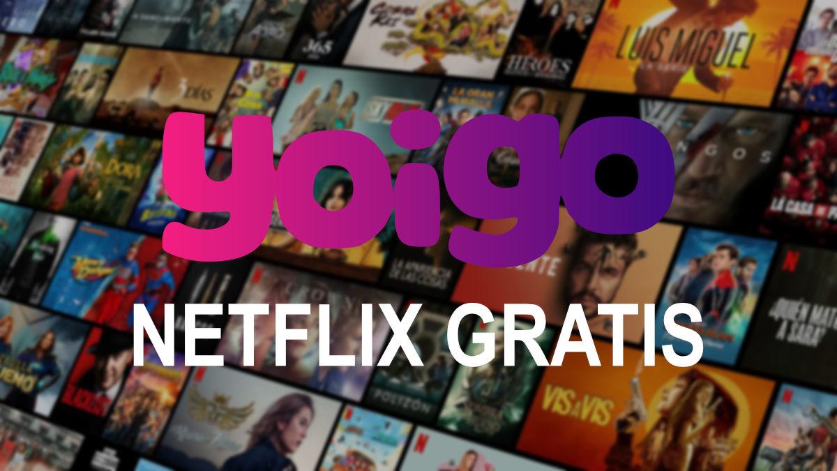 Oferta: 6 meses gratis de Netflix al contratar TV con Yoigo