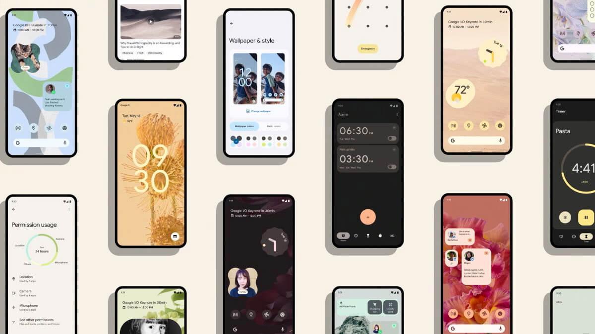 Android 12: ¿cuándo lanzarán la actualización Samsung, Xiaomi, Oppo y demás?