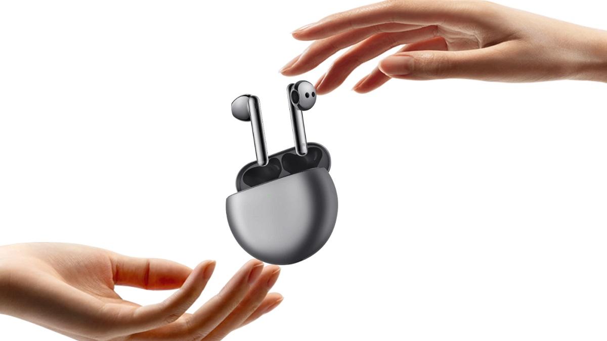 Huawei FreeBuds 4 son oficiales: más ligeros y con ANC que se adapta a la forma de tu oído