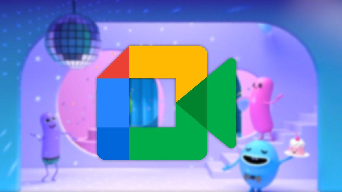 Google Meet ya permite poner fondos como Zoom