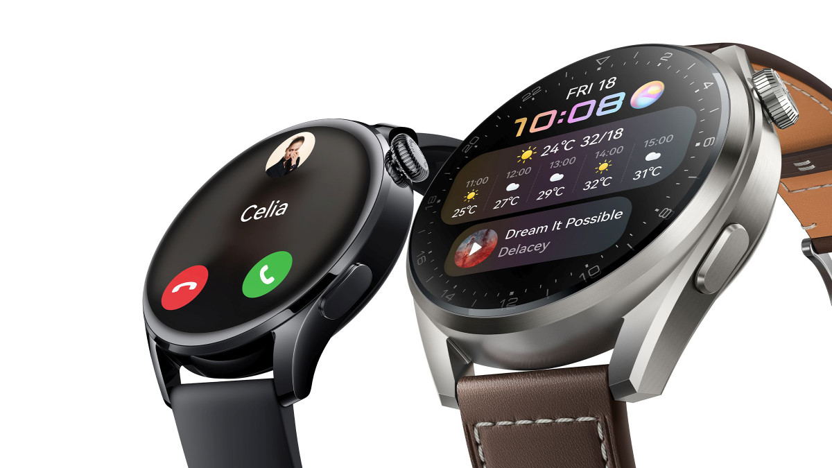 Huawei Watch 3: así es el smartwatch premium con HarmonyOS