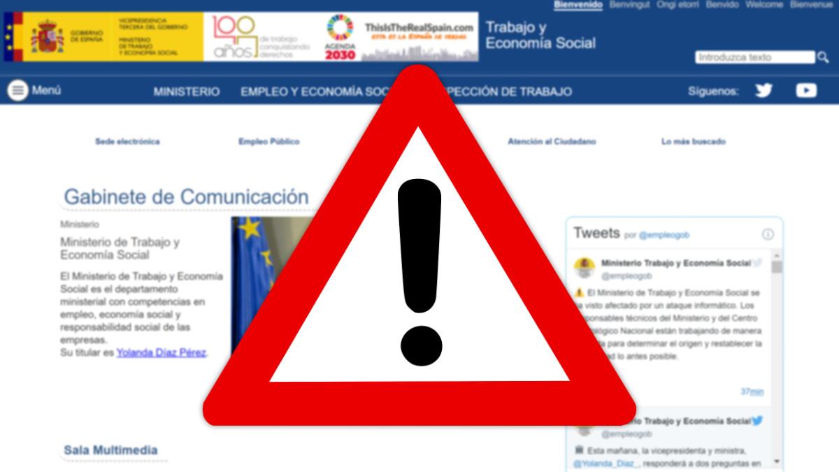 El Ministerio de Trabajo es hackeado: problemas por un ataque informático