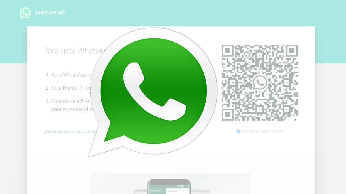 Dónde está el código QR de WhatsApp Web