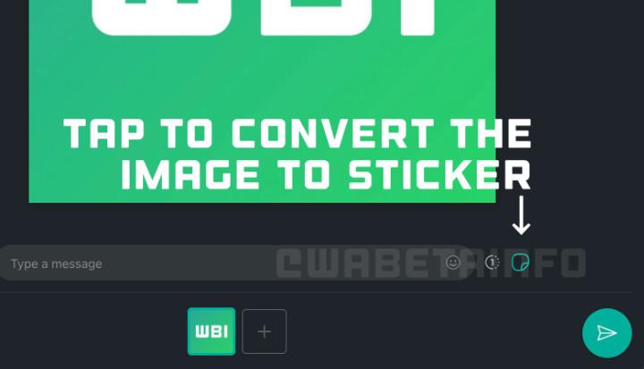 Imagen - WhatsApp permitirá enviar imágenes como stickers