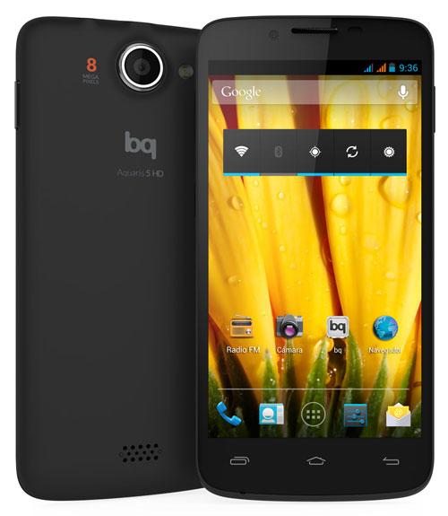 Imagen - bq Aquaris 5 HD, otro smartphone más de la marca española