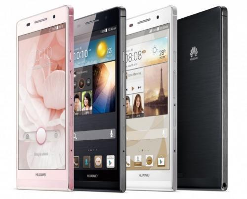 Imagen - El Huawei Ascend P6 ya es oficial