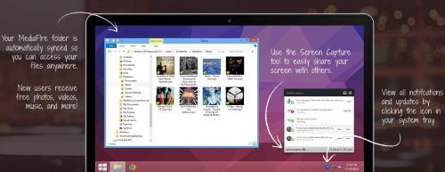 Imagen - MediaFire presenta aplicación para Windows y Mac OS
