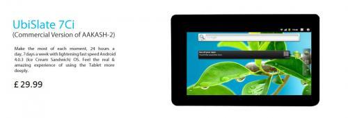 Imagen - UbiSlate 7Ci, el tablet más barato llega a un precio de 35 euros