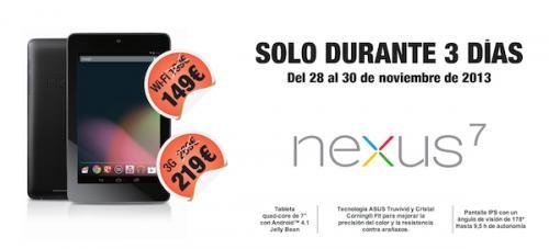 Imagen - El Nexus 7 de 2012 baja su precio a los 149 euros