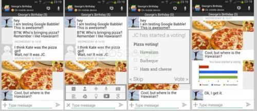 Imagen - Google Babble se deja ver en imágenes