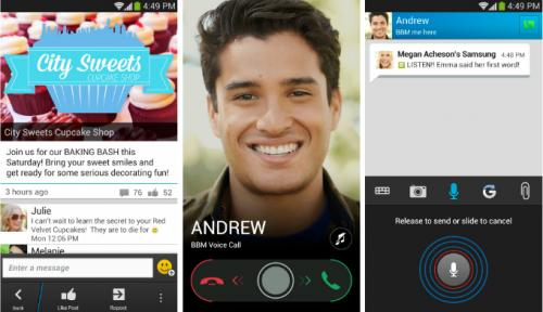 Imagen - BlackBerry Messenger 2.0 para Android añade llamadas gratuitas