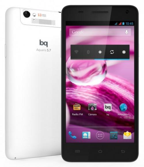 Imagen - bq Aquaris 5.7, el nuevo smartphone de la marca española
