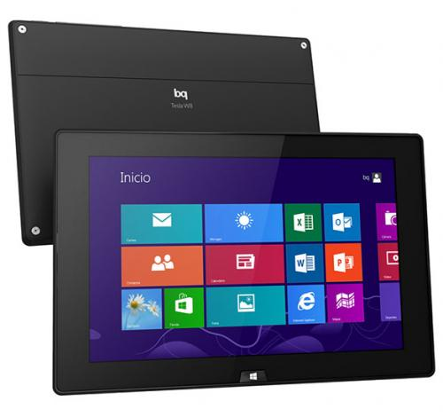 Imagen - bq Tesla W8, la primera tablet de bq con Windows 8