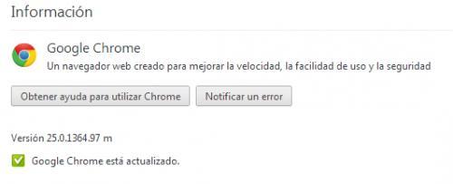 Imagen - Chrome 25 ya está disponible para su descarga