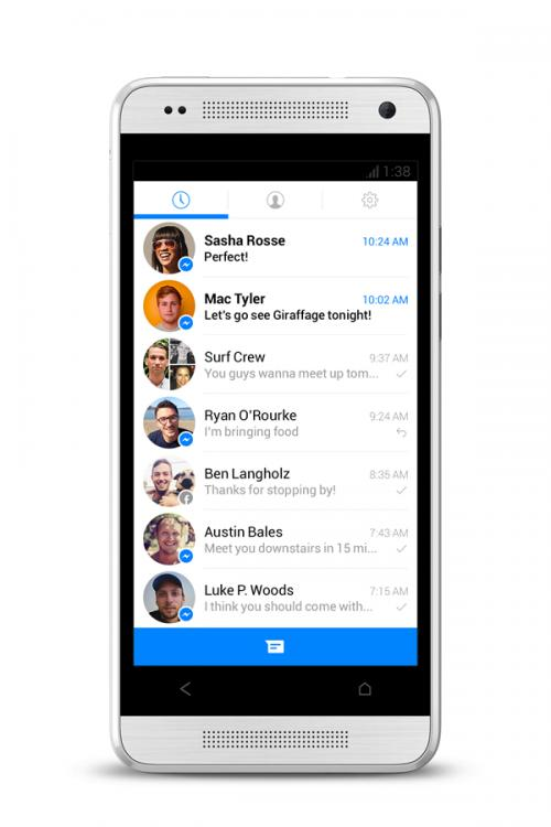 Imagen - Facebook Messenger se renovará para plantarle cara a WhatsApp