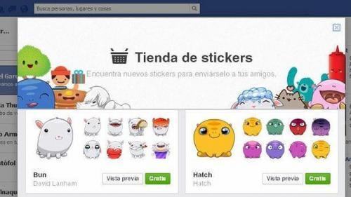 Imagen - Los stickers de Facebook llegan a la versión web del chat