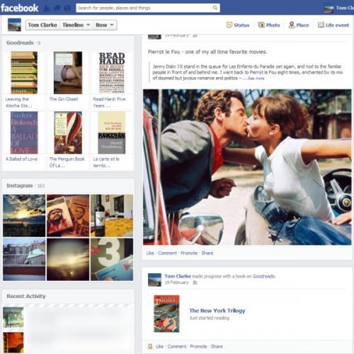 Imagen - Facebook renovará el timeline del usuario