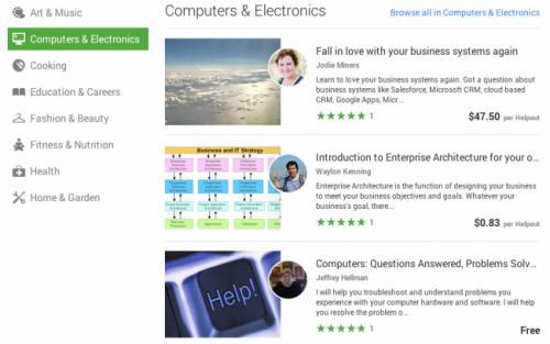 Imagen - Google Helpouts, clases a través de Hangouts