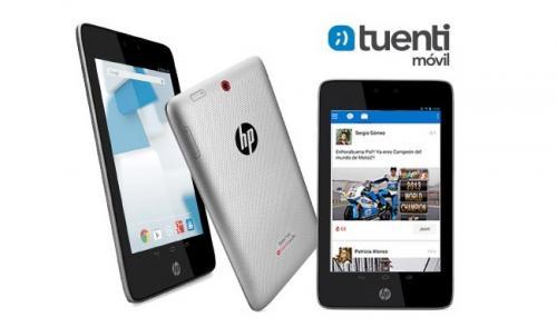 Imagen - Tuenti Móvil ofrece el tablet HP Slate 7 HD 3G con conexión 3G durante un año