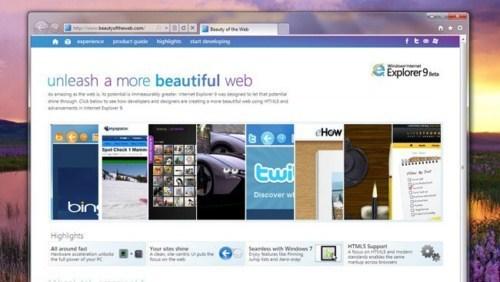 Imagen - Internet Explorer 9, un repaso a las novedades más importantes del navegador