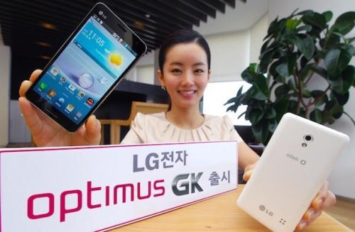 Imagen - LG presenta el Optimus GK, un smartphone tope de gama