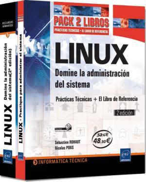 """Imagen - """"Pack de libros – Administración de sistemas Linux"""""""