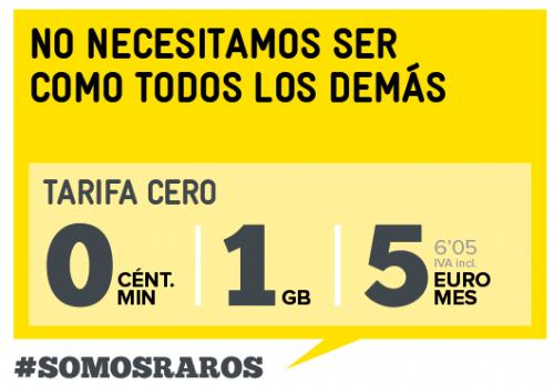 Imagen - MÁSMÓVIL ofrece 1Gb por 5 euros mensuales